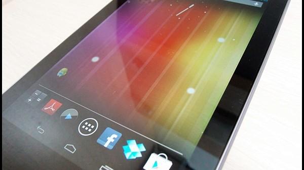 Nexus7 vs Galaxy Nexus。Nexus哥倆好